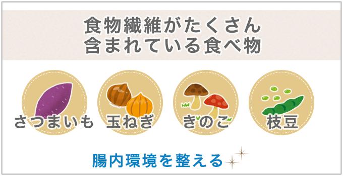 食物繊維が含まれる食べ物