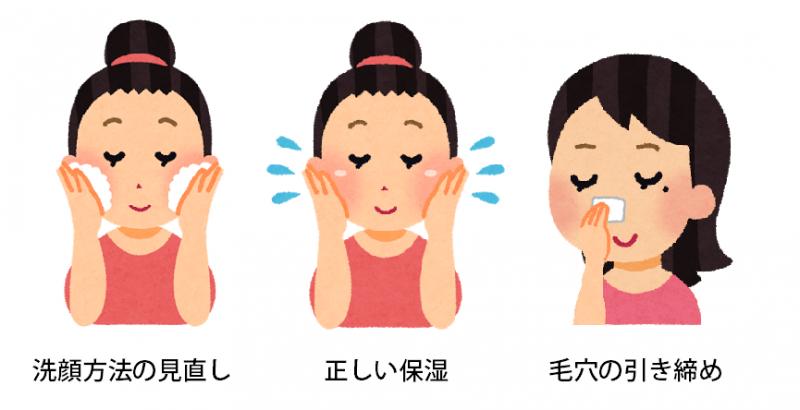 鼻ニキビを治すためのスキンケア方法