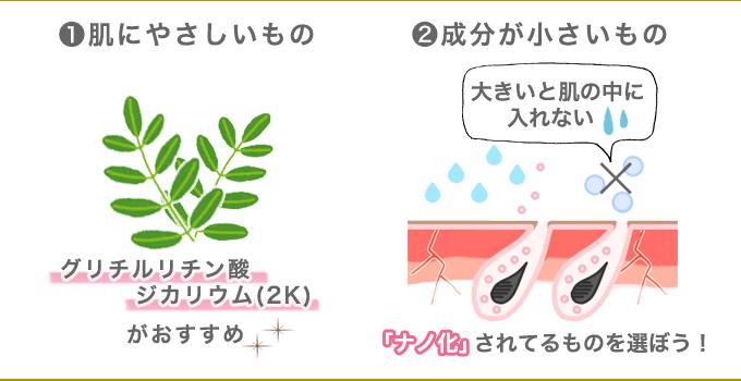 炎症を抑える化粧水