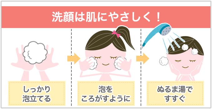 いちご鼻 洗顔はやさしく!