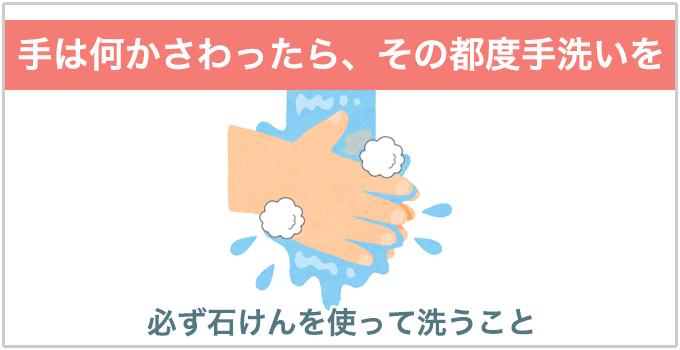鼻の穴ニキビ 手洗い