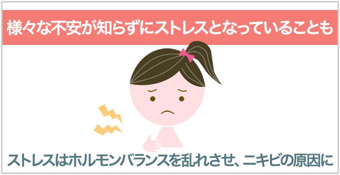 妊娠ニキビ ストレス