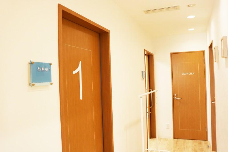 こじまクリニック東京 診察室