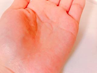 ファンケルアクネケア 化粧液のテクスチャー